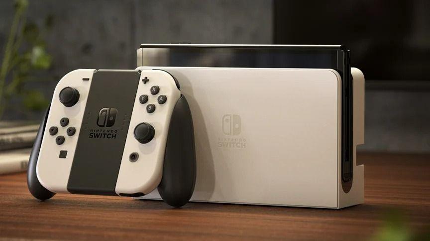 Nintendo Switch: la dock del modello OLED è 4K/60 fps ready