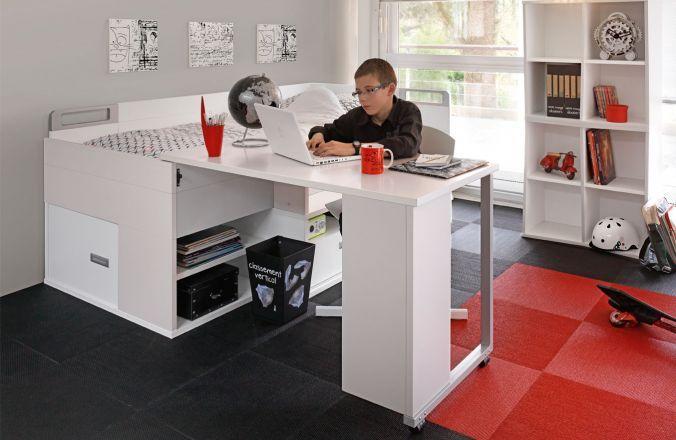 Caisson bureau tiroirs rangement bureau chambre enfant