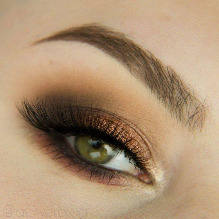Chocolate Smokey Makeup Tutorial By AGwer. Makeup Geek