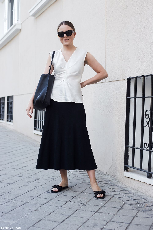 b458a1949ce SUMMER 2017: OUTFIT 2   Style   Skirts, The row bag, Balenciaga ...