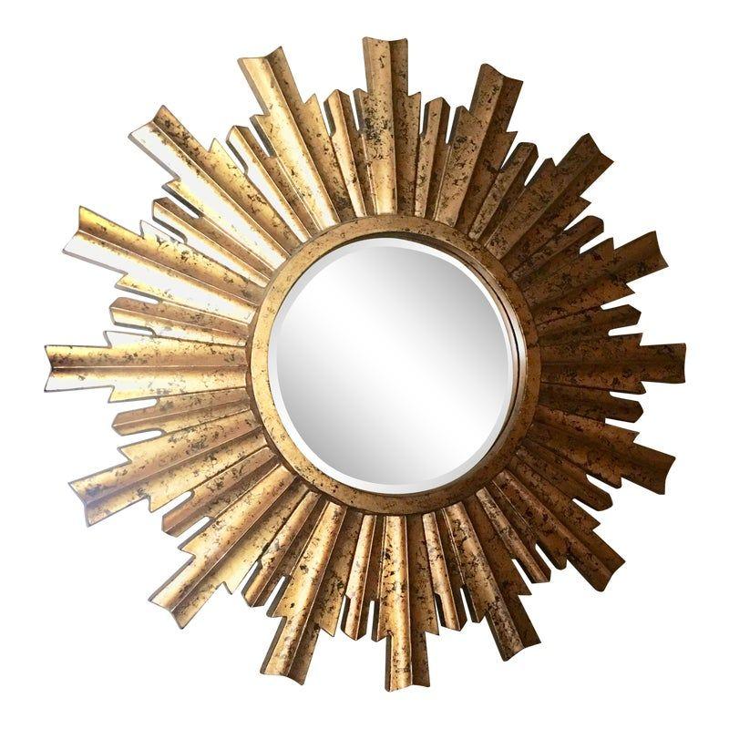 Large 33 Contemporary Sunburst Starburst Mirror Starburst Mirror Sunburst Mirror Mirror