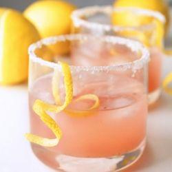 Vanilla Citrus cocktail ~ Winter citrus is mellowed and sweetened with fresh vanilla bean flecks