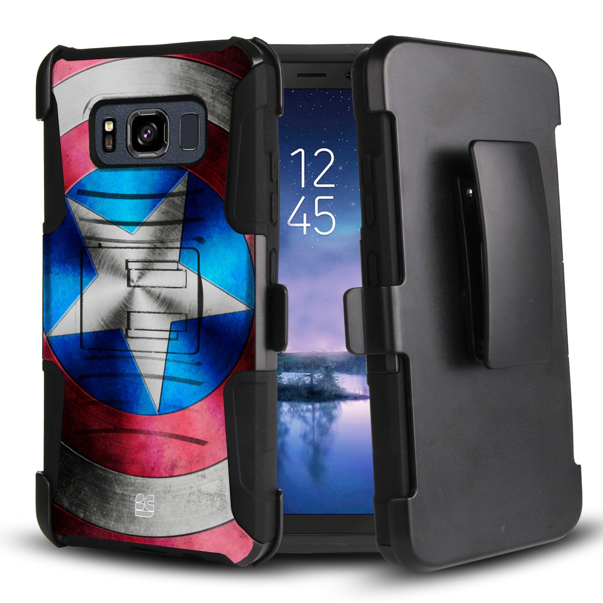 Galaxy S8 Active Case Trishield Gear Durable Hybrid Rugged Armor Spigen For Black Hard Shell Inner Silicone