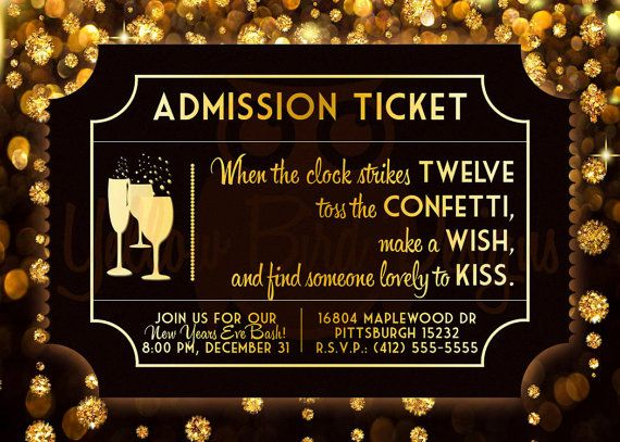 Planning A New Years Eve Party In Your Home New Years Eve Invitations New Year S Eve Celebrations Party Invitations