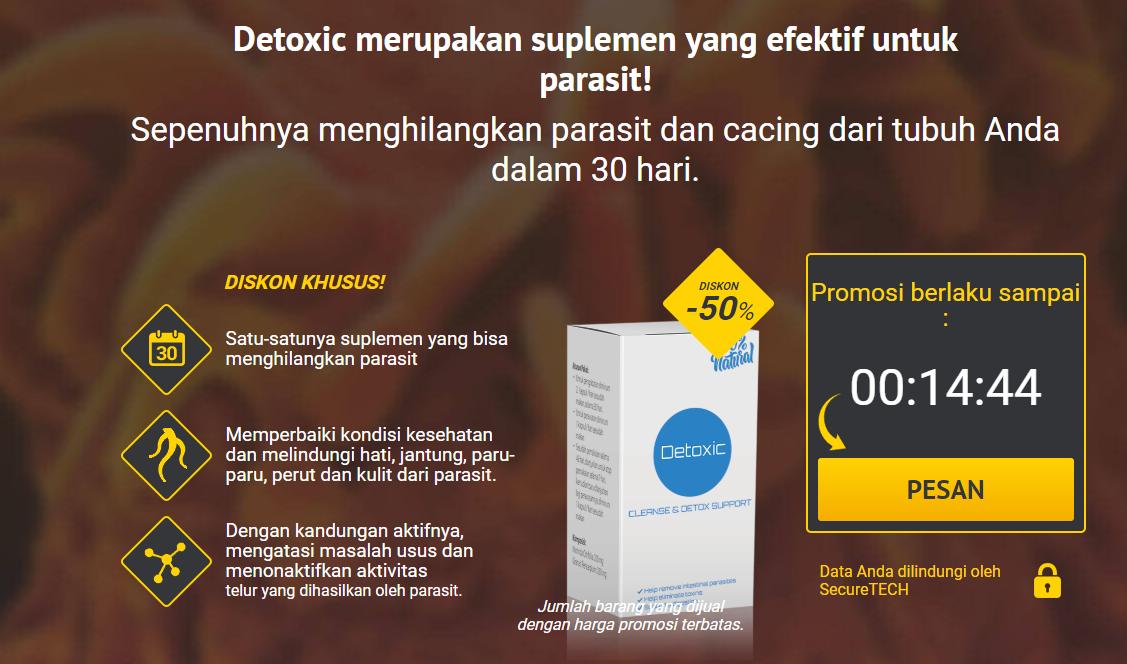 Detoxic obat apa? harga obat detoxic & ulasannya Natural