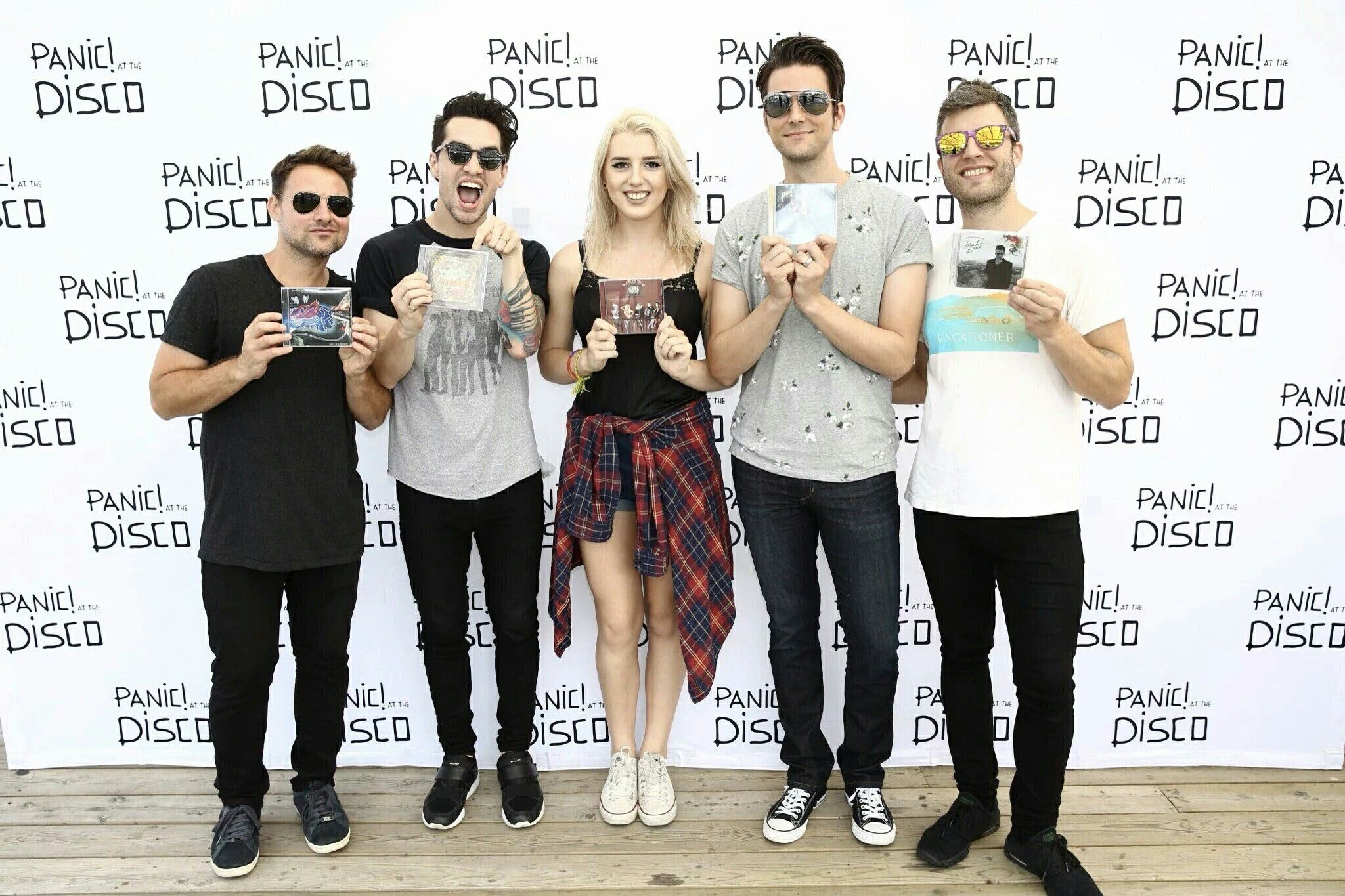 Panic Meet And Greet With All Of Their Albums Brendon Uriepatd