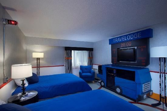how excited would liam be if this was his new room travelodge in