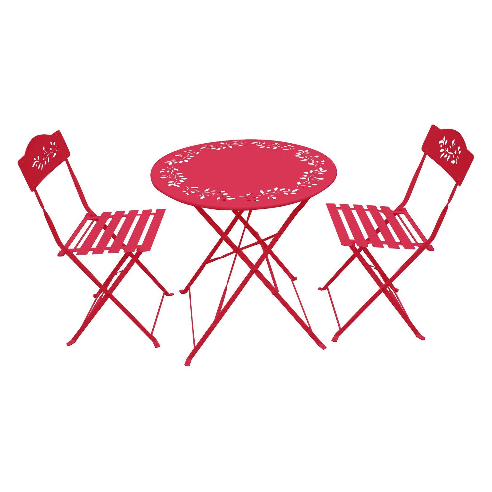 Amazing Outdoor Alpine Metal Folding Bistro Set With Two Chairs Spiritservingveterans Wood Chair Design Ideas Spiritservingveteransorg