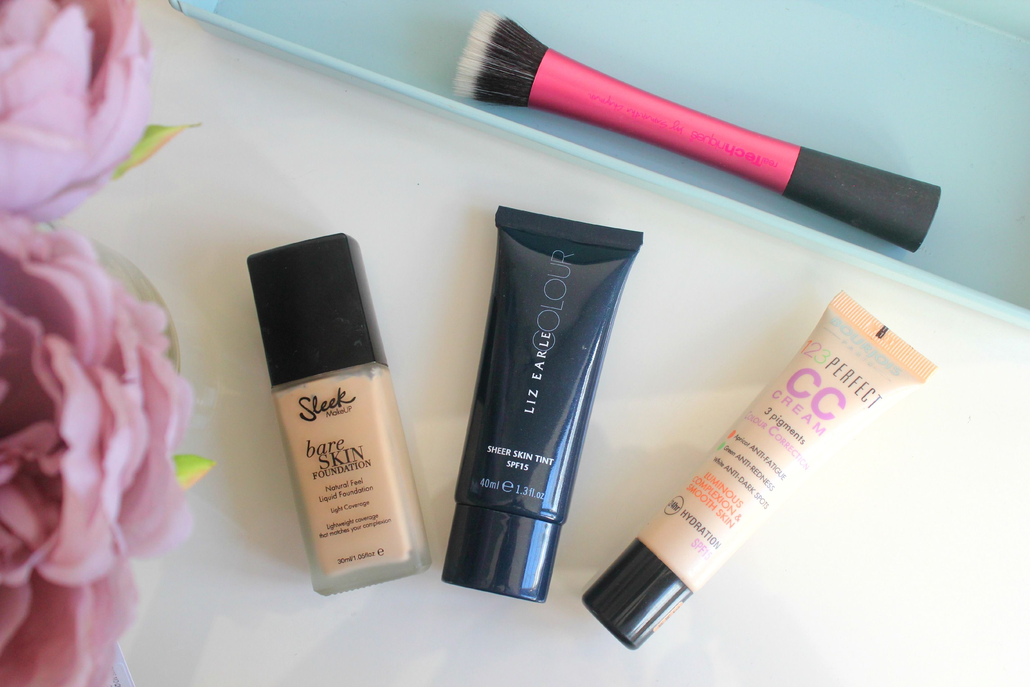 Spring foundation picks Lifestyle blogger