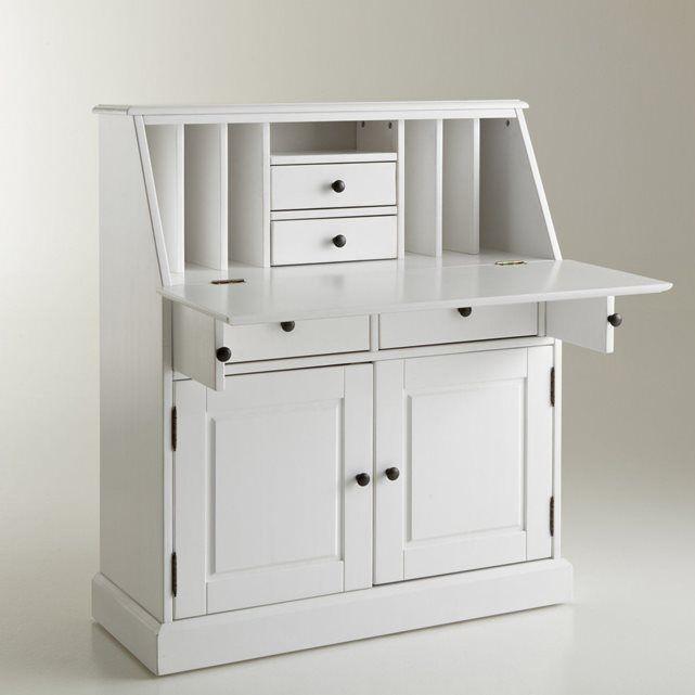 Scriban pin massif betta en 2019 bureau mobilier de salon bureau chene et pin massif - Petit meuble en pin ...