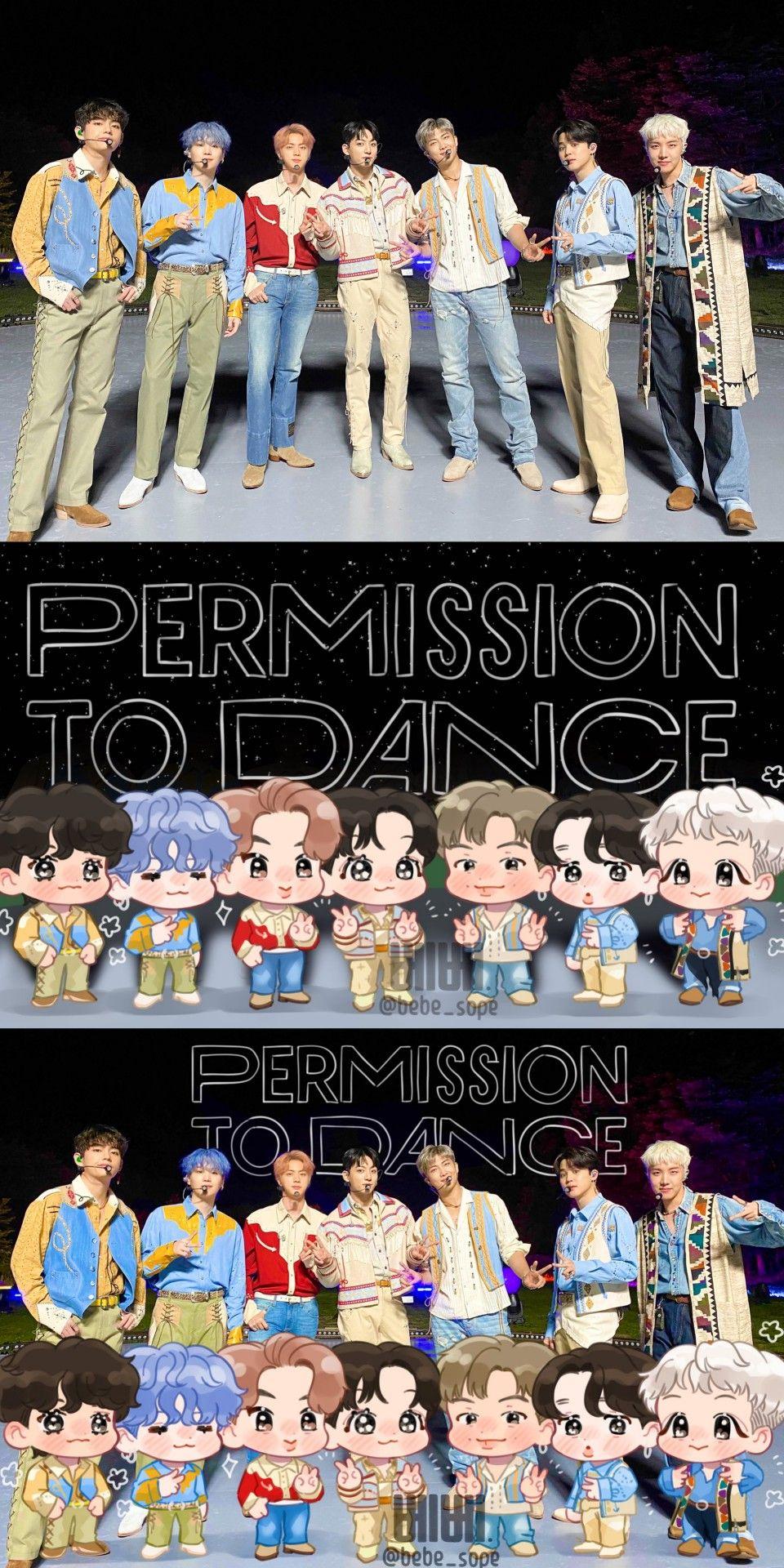 Bts Permission To Dance In 2021 Bts Fanart Bts Boys Fan Art Bts wallpaper 2021 permission to dance