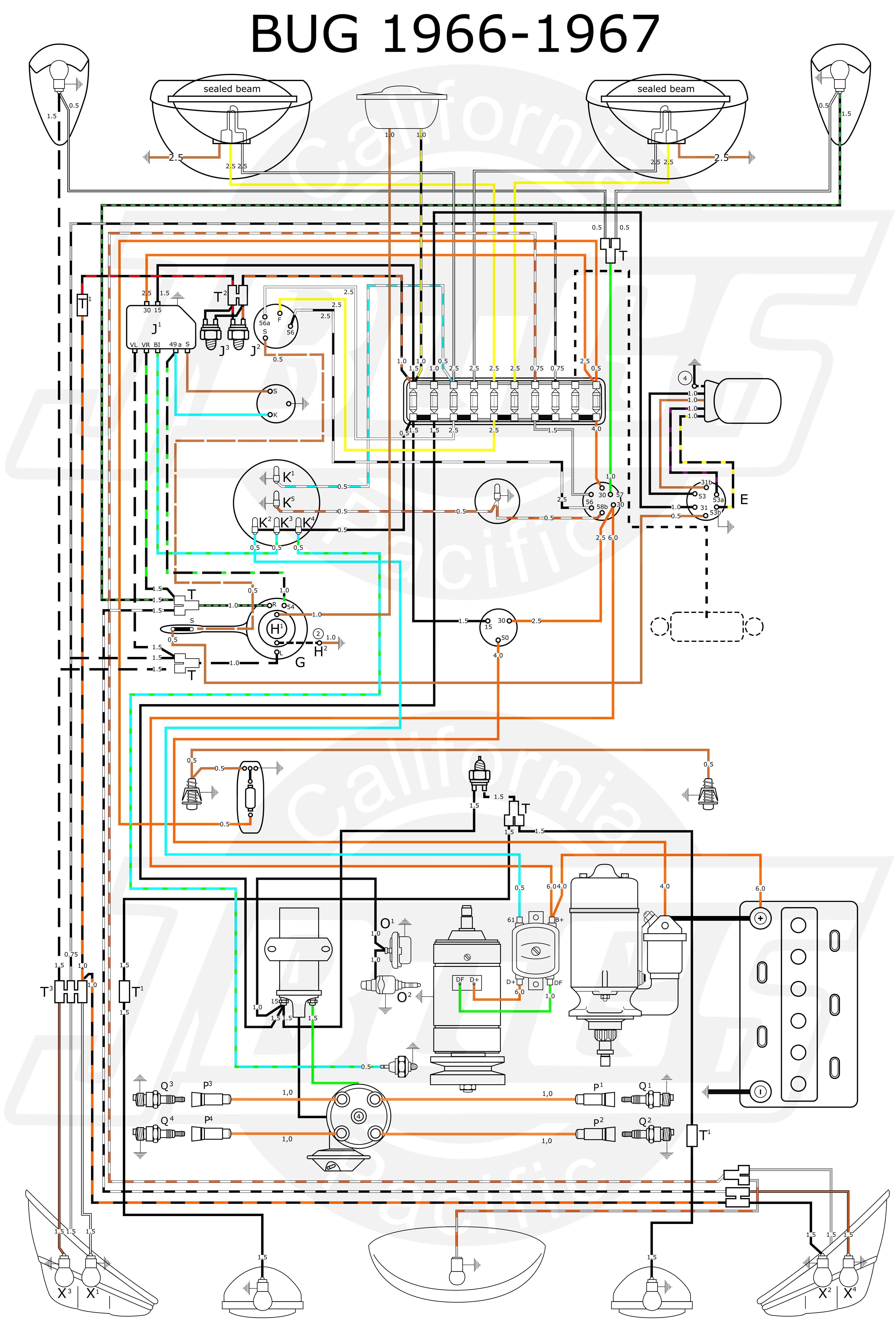 Diagram Diagramtemplate Diagramsample Vw Parts Vw Beetle Classic Volkswagen Car