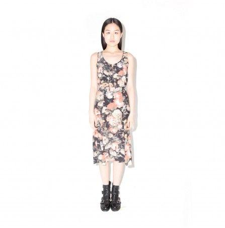 MIDNIGHT GARDEN Fluted Skirt http://www.houseofhackney.com/midnight-garden-fluted-skirt.html