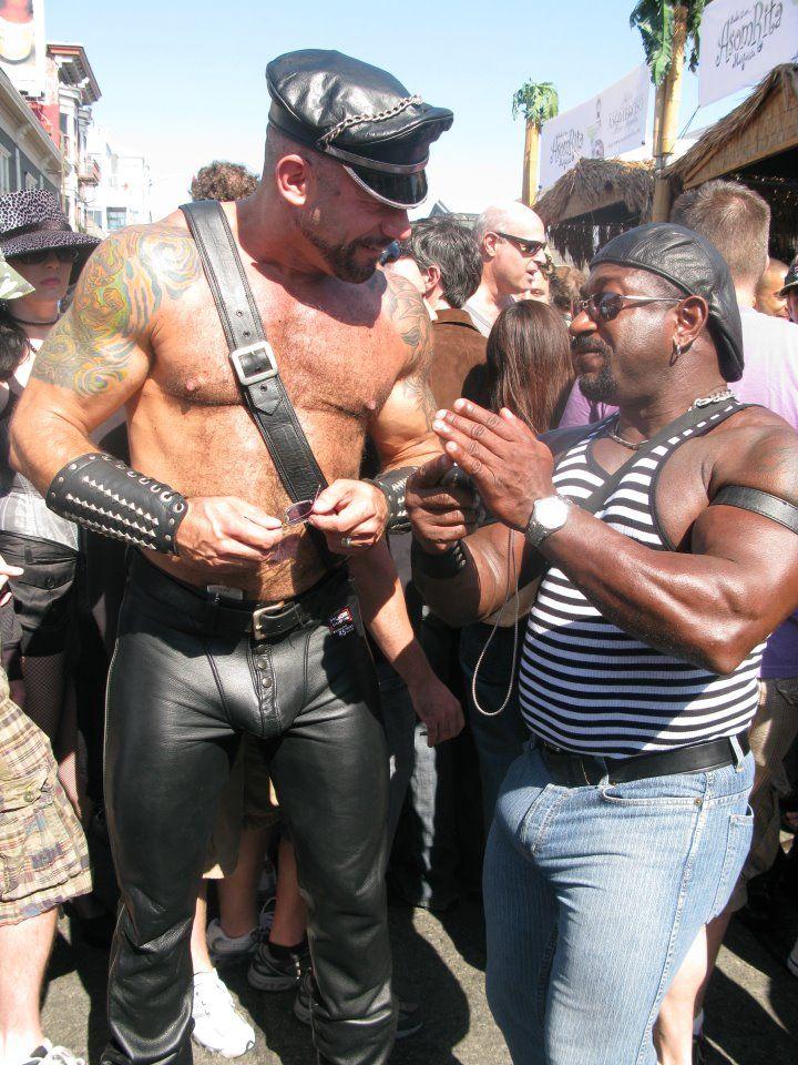 boy gay son Leather