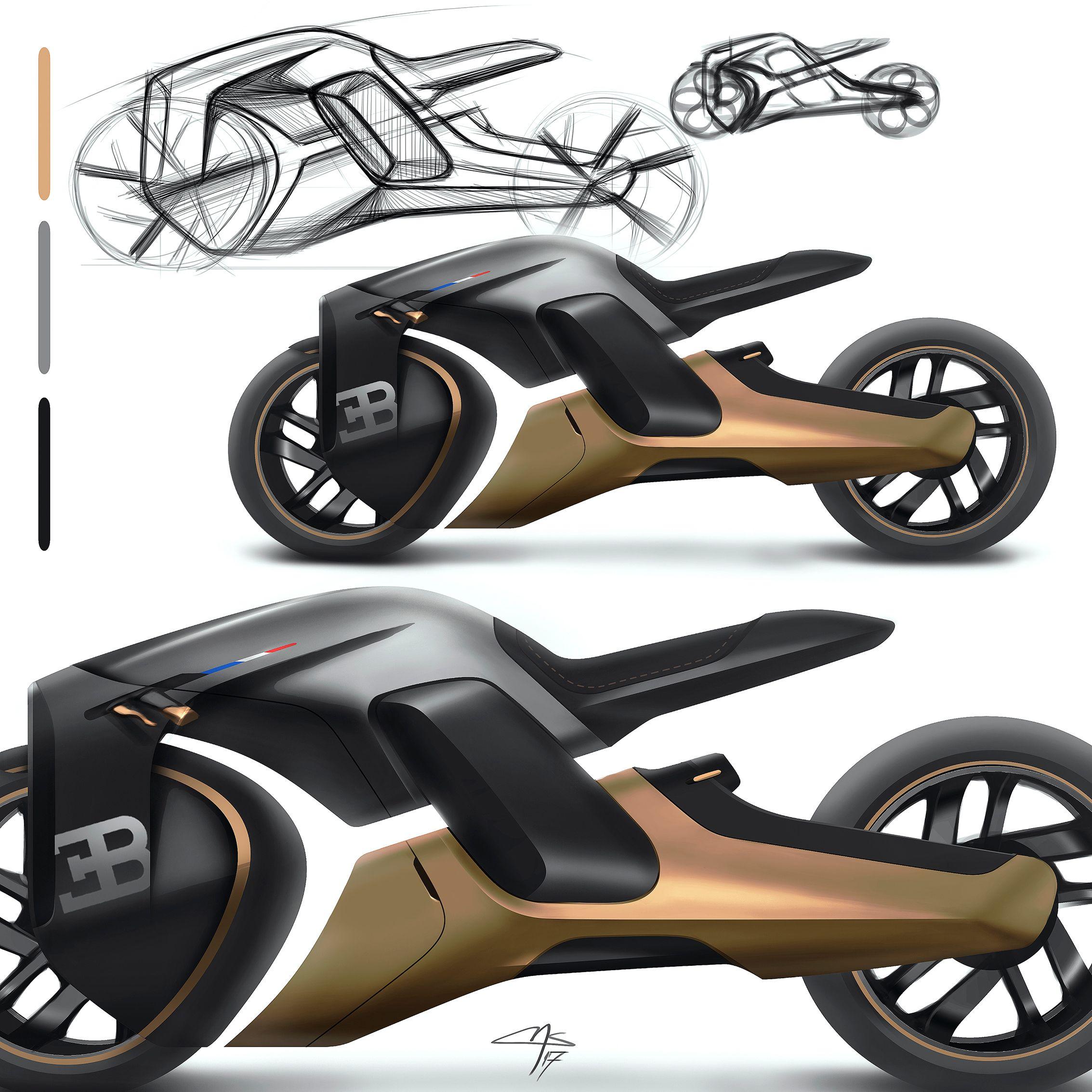Future Cars: Bugatti Motorcycle Concept