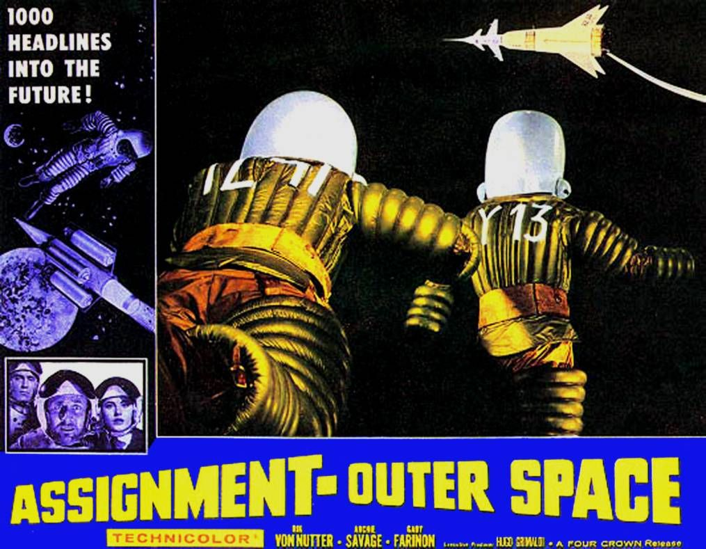 Assignment Outer Space (1960) lobby card, aka