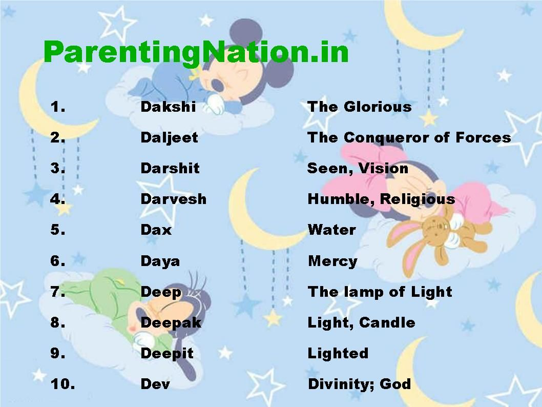Meaning of indian names search