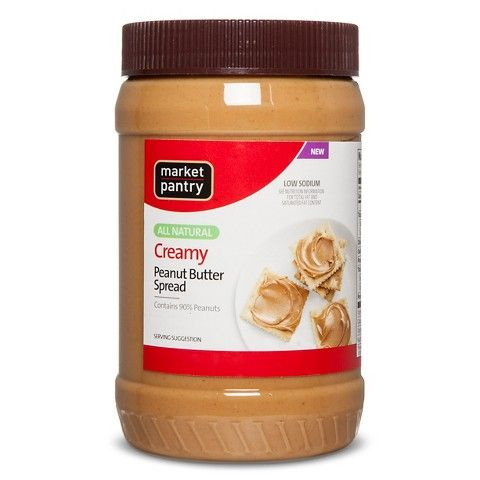 mp natural peanut butter 40oz