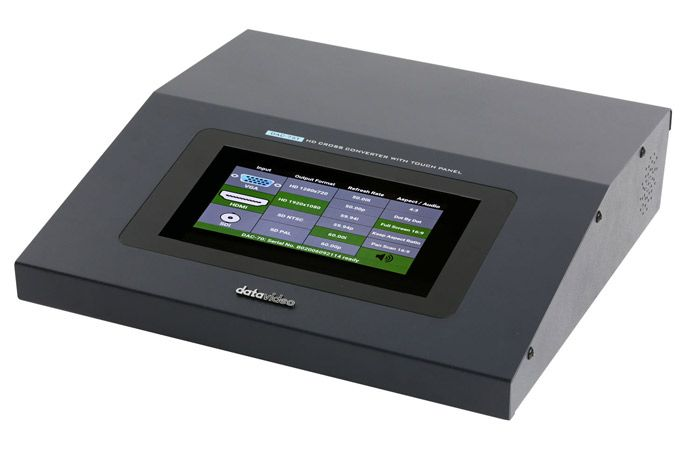 Datavideo DAC-75T HD Up/Down/Cross Converter With Touch Panel