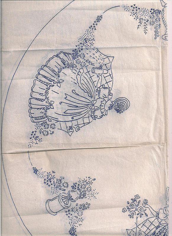 section 3 crinoline lady 001 | Bordado, Damas y Dibujar