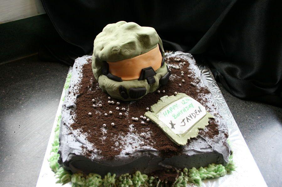 halo birthday cake Halo Reach Birthday Cakes Boy birthdays