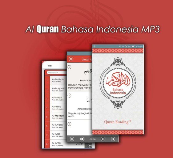 Al Quran Bahasa Indonesia Android app by Quran Reading com