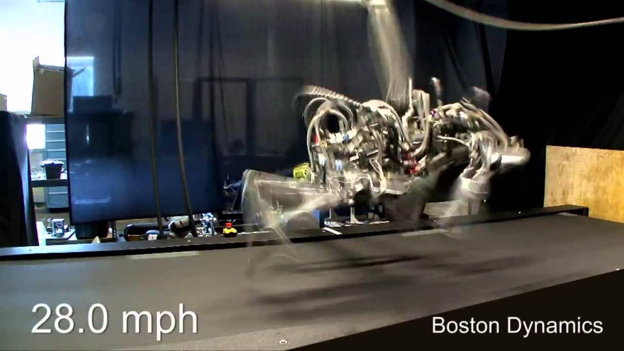 Cheetah robot runs 28 3 mph a bit faster than usain bolt