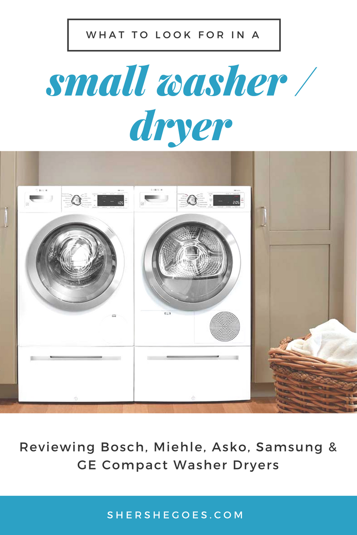 The Best Compact Washer And Dryer For A Small Apartment Compact Washer Compact Washer And Dryer Washer And Dryer