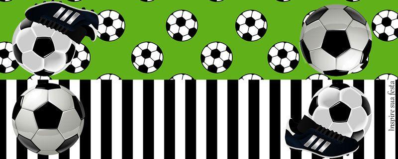 4049c35a96dba0 Futebol - Kit festa grátis para imprimir | printables | Aniversário ...