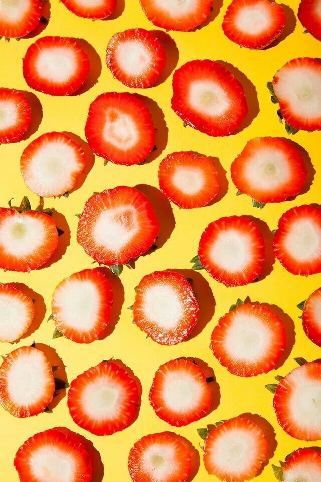 strawberry (With images) | Food patterns, Strawberry ...