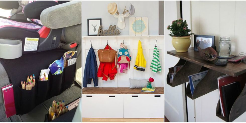 IKEA Hacks to Organize Your Life - IKEA Organization Ideas    From your bedroom to your kitchen to your car.