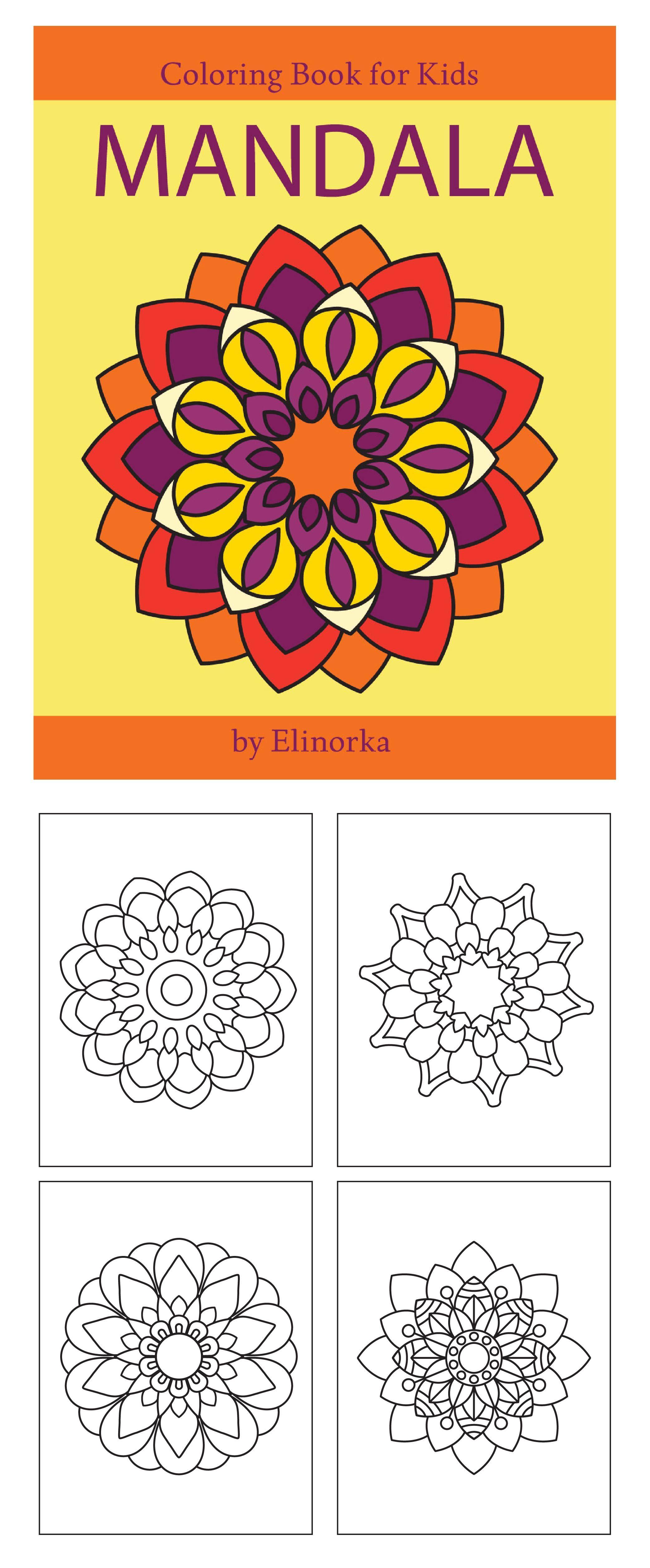 Mandala Coloring Book For Kids And Beginners Easy Simple Mandalas Designs Perfect Gift