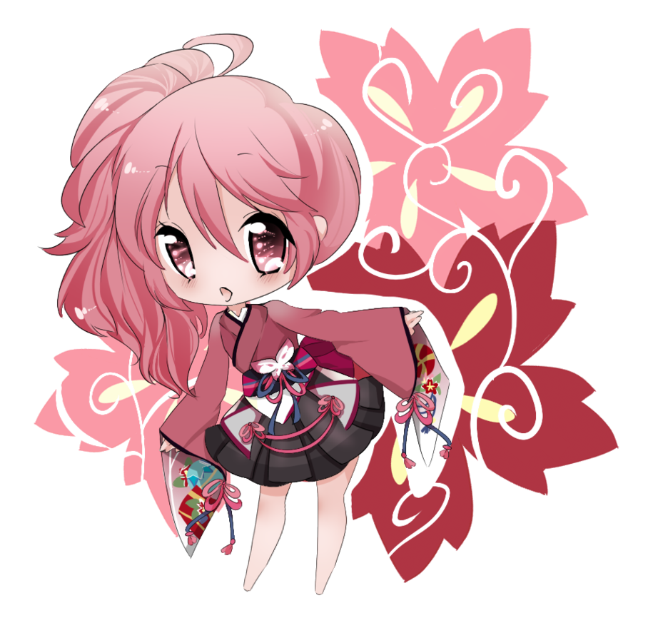 Art Trade By Airichii On Deviantart Cute Anime Chibi Anime Chibi Kawaii Chibi