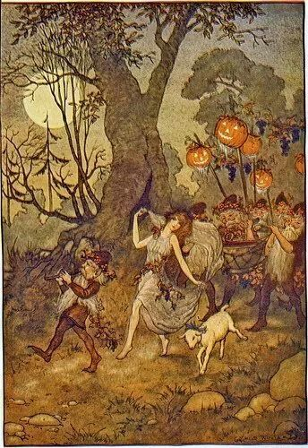 Fae All Hollows Eve Parade Vintage Halloween Images Halloween Illustration Halloween Images