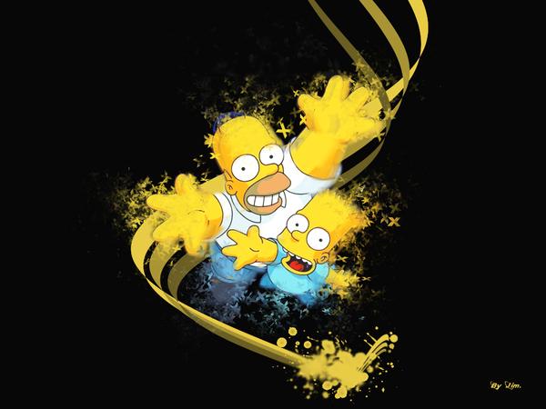Simpsons Funny Wall by Jim971.deviantart.com on @deviantART