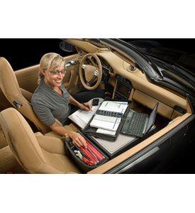 Auto Exec Front Seat Organizer In Car Organizers