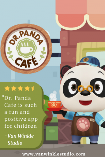 Read our review of Dr. Panda Cafe, a spectacular app that teaches children multi-tasking and memorization as they run their own cafe!
