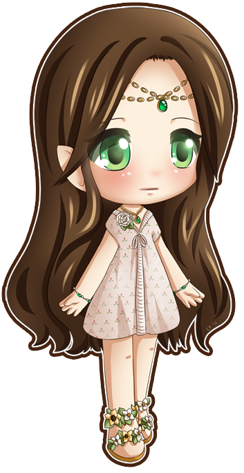 Elven Chib by Cupkik Cute anime pics, Kawaii chibi