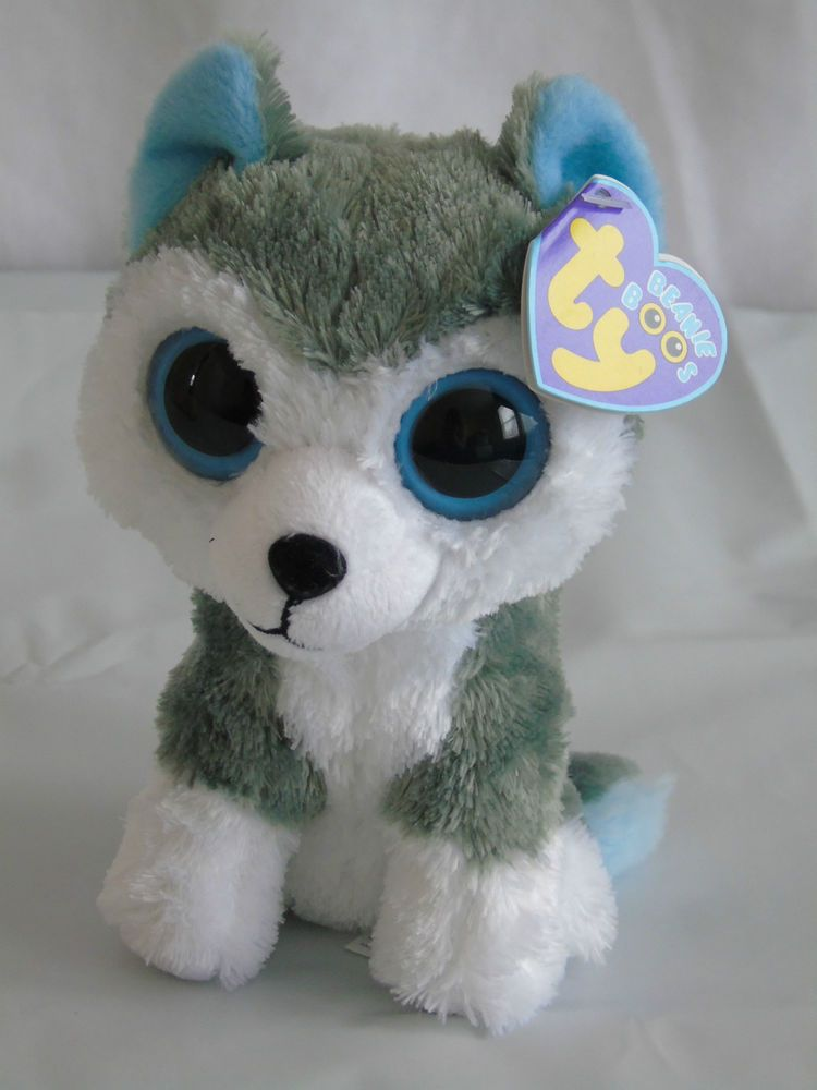 77e479b74c2 TY Beanie Boo Boos Slush the Husky Dog 2013 stands 6