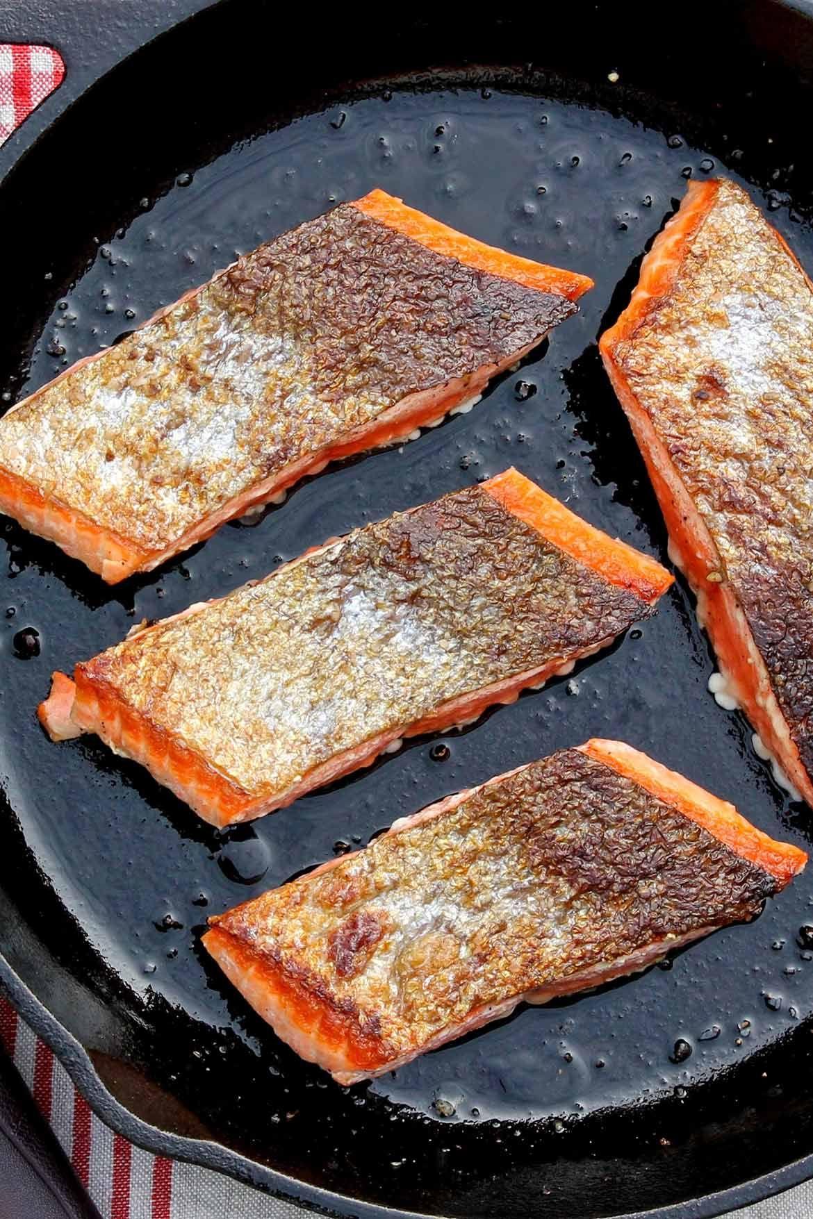 Crispy Skin Salmon – The Fountain Avenue Kitchen   Recipe ...