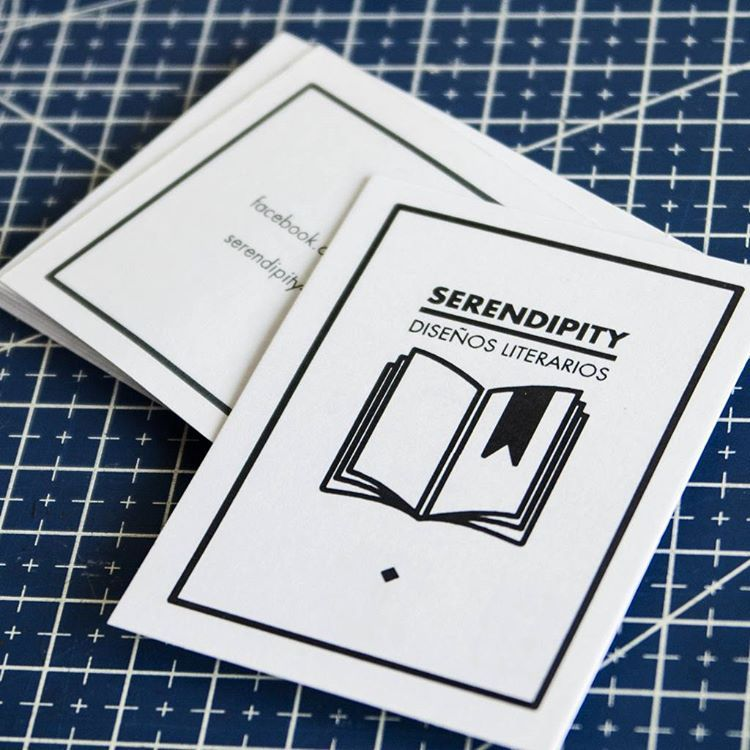 Serendipity remeras nos preguntó ¿Hacen #tarjetas personales en #offset? ¡Seguro! ¡Muchas gracias!  Serendipity t-shirts asked us Do you print offset #bussinescards? Sure! Thank you very much!