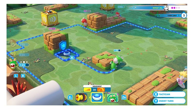 [Review]Mario Rabbids Kingdom Battle Nintendo Switch