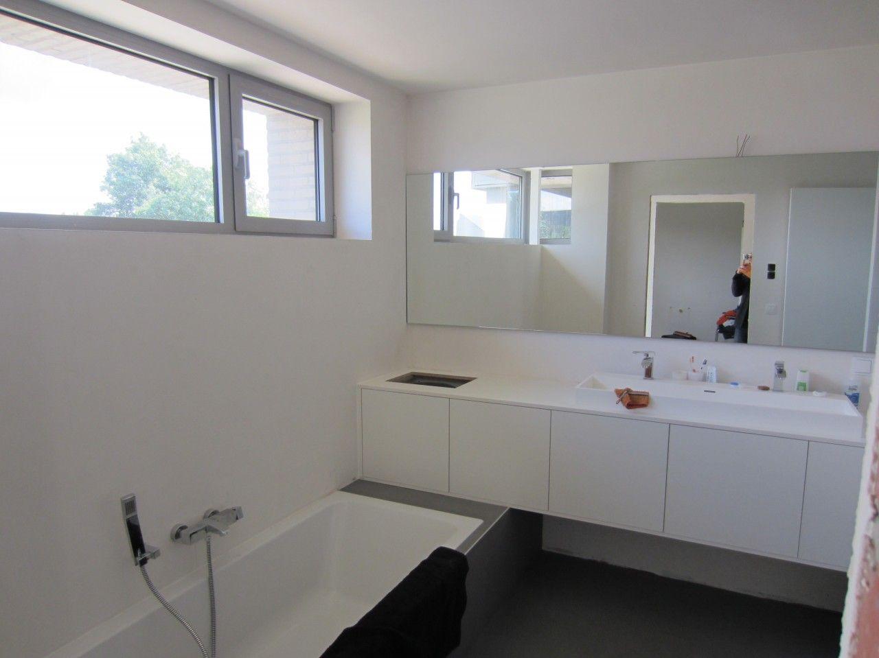 Badezimmerspiegel Bauhaus ~ Linnenkoker mooi weggewerkt binnenafwerking pinterest