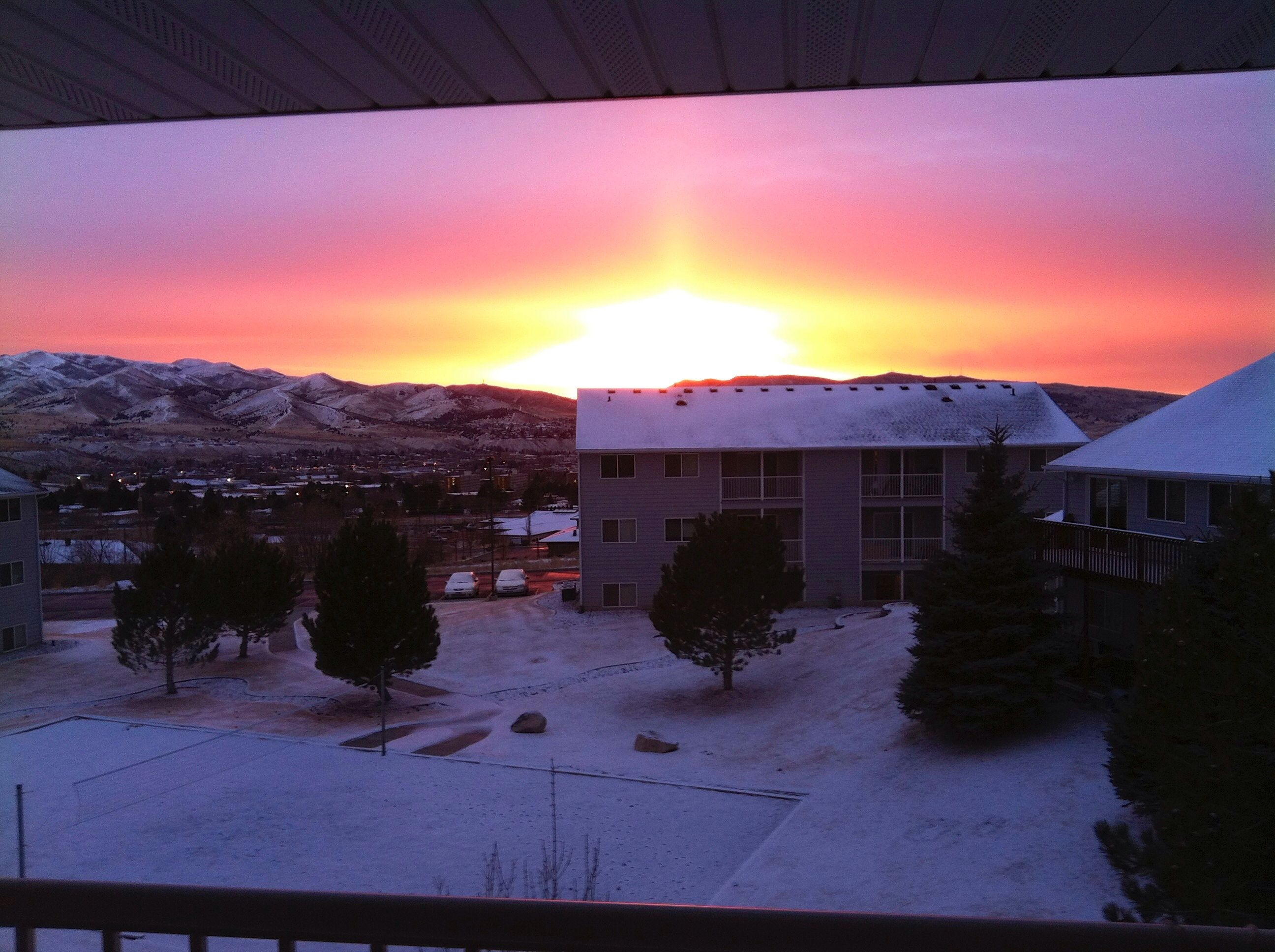 Pocatello sunset