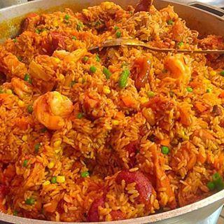 Jollof rice jollof rice africans and rice jollof rice west african foodafrican food recipeswest forumfinder Gallery