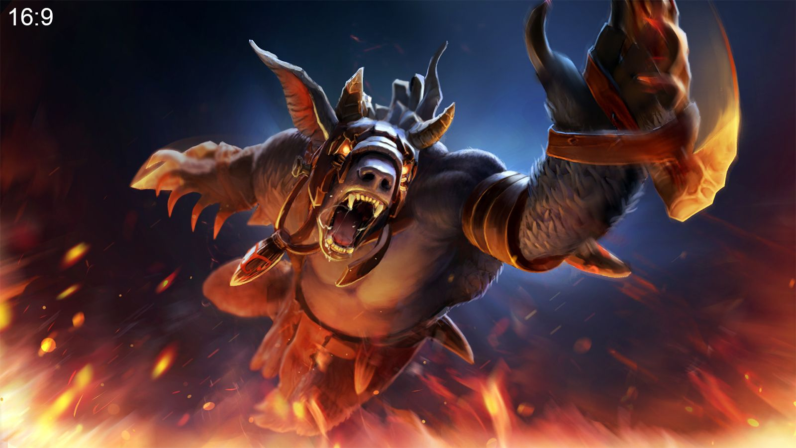 ursa the corrupted tribe wallpaper more http dota2walls com