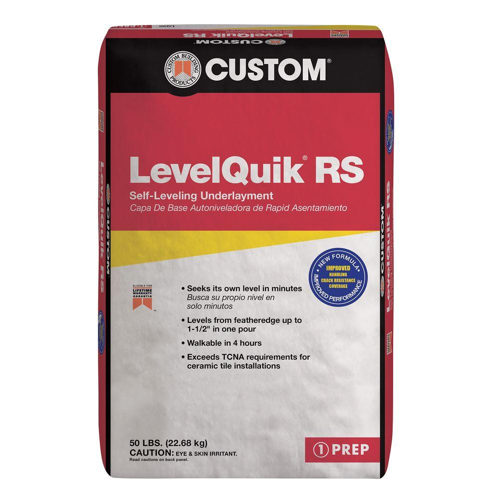 Custom Building Products Levelquik Rs 50 Lbs Self Leveling