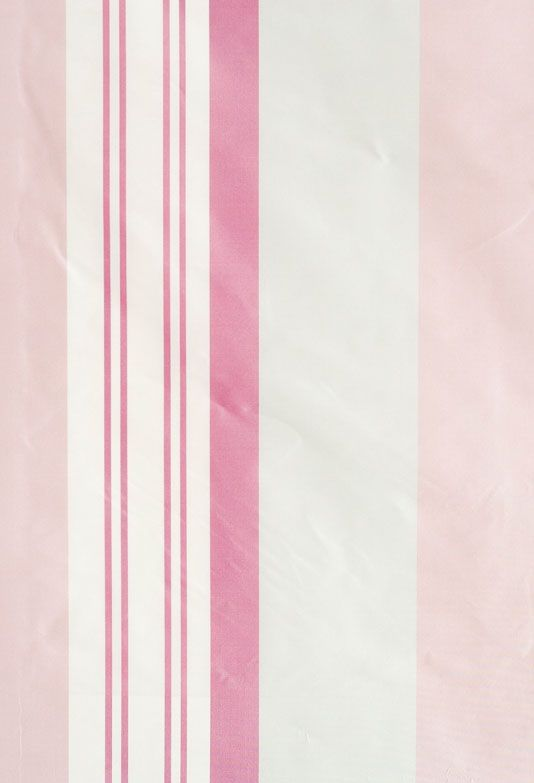Hestercombe Striped Curtain Fabric Striped Curtain Fabric In Pink