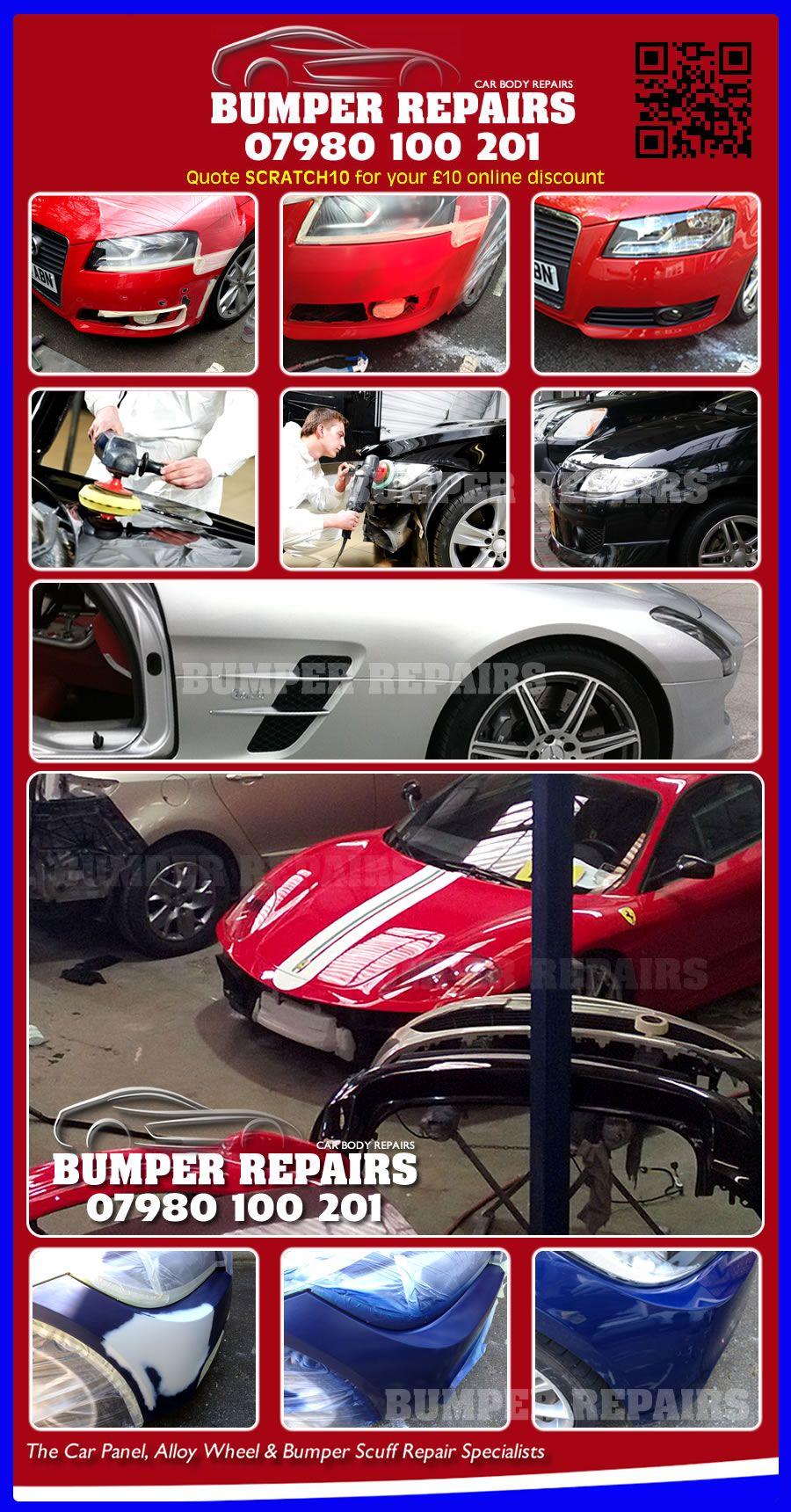 Mobile Car Body Repairs In London Bumper Repair Car Dent