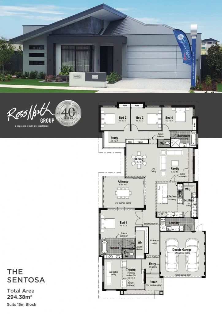 The Sentosa | Display Home Landsdale | Ross North Homes ...
